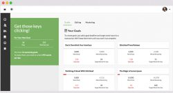 The Stitchleaf App For Writers and Editors - Dashboard