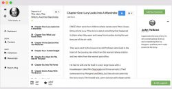 Writers commenting in Stitchleaf, an app for writers